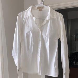 Michael Kors White Button Up